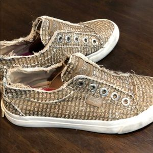 Sparkle sneakers- gold! Blowfish- kids- size 2